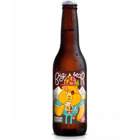 Cerveza Big Bear 33cl SIN GLUTEN