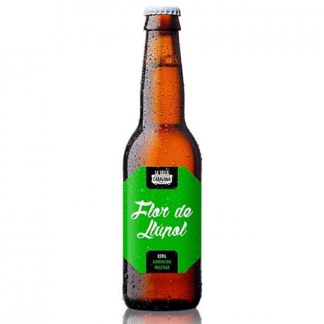 Cerveza Flor de Llúpol 33cl