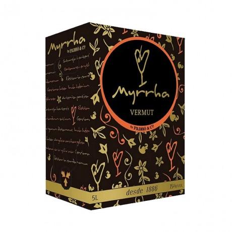 Bag in box Vermut Myrrha Rojo 5L