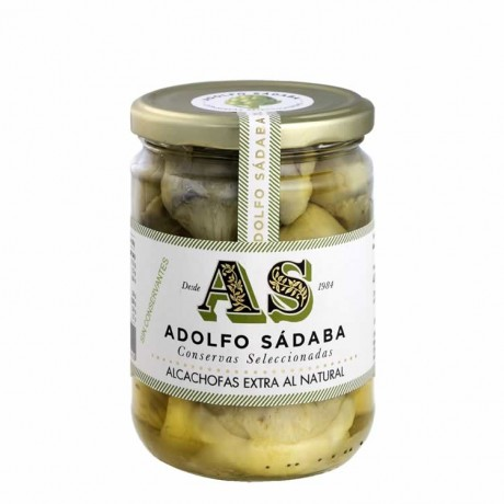 Alcachofas con aceite de oliva primera Adolfo Sádaba